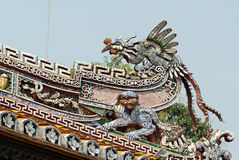 Detail of Emperor's Palace in Hue. Stock Image