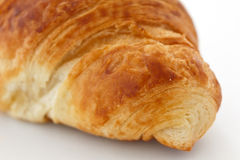Detail of an end of a pastry croissant Stock Images
