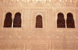 Detail Engraving Wall Stock Image