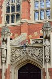 Detail of Entrance  Cambridge College Stock Photography