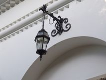 Detail of entrance and lantern Stock Image