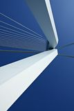 Detail of Erasmus Bridge Stock Photo