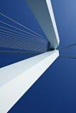 Detail of Erasmus Bridge. Detail of the famous Erasmus Bridge in the Netherlands stock photo