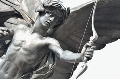 Detail of Eros Statue Stock Image
