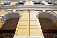 European building in Senado Square in Macau Stock Photos