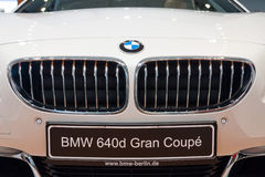 Detail of a executive coupe BMW 640i Gran Coupe Stock Image