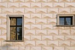 Detail exterior of Bohemian building Royalty Free Stock Photos