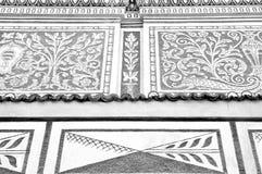 Detail exterior of Bohemian building Stock Photo