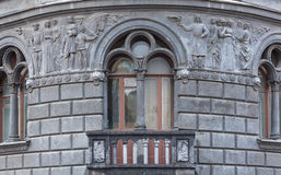 Detail of the facade Stock Image