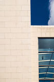 Detail of the facade of a business building in Frankfurt, German Royalty Free Stock Image