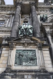 Detail of the facade of the cathedral in Berlin Stock Photo