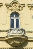Detail of facade decoration Royalty Free Stock Photography