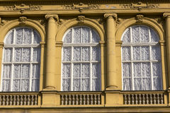 Detail of facade decoration Stock Photo