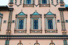 Detail of the facade Epiphany church Royalty Free Stock Photo