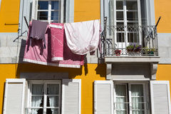 Detail of facade in Lekeitio Stock Photography