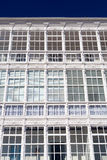 Detail of facade in Lekeitio Royalty Free Stock Photos