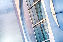Detail of the facade of a modern building Royalty Free Stock Photo