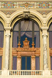 Detail of facade of the Monte Carlo Opera House Royalty Free Stock Image