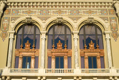 Detail of facade of the Monte Carlo Opera House Stock Photography