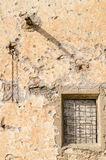 Detail of the facade of an old farmhouse in Andalusia Stock Photography