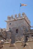 Detail of the facade of the Old Silk ExchangeLonja de la Seda, Stock Image