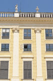 Detail from the facade of Schonbrunn Palace in Vienna Royalty Free Stock Photo