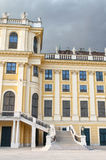 Detail from the facade of Schonbrunn Palace in Vienna Royalty Free Stock Images