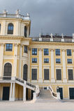 Detail from the facade of Schonbrunn Palace in Vienna Royalty Free Stock Photography