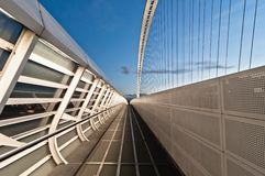 Calatrava bridges in Reggio Emilia in northern Italy Royalty Free Stock Photography