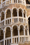 Detail of famous staircase name Bovolo located in Venice, Italy Royalty Free Stock Photos