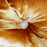 Detail of a fancy cushion Royalty Free Stock Image