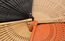 Detail fans collection Royalty Free Stock Photo