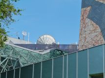 A detail of the fed square in Melbourne Royalty Free Stock Photo