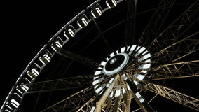 Detail of Feriss Wheel Royalty Free Stock Photography