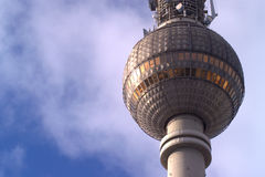 Detail of Fernsehturm Royalty Free Stock Images