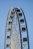 Detail of Ferris wheel Stock Photo