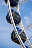 Detail of a ferris wheel royalty free stock photography