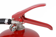Detail of fire extinguisher Stock Photo