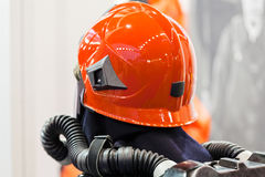 Detail of fire fighting equipment Stock Photography