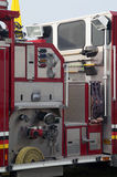 Detail of fire truck Royalty Free Stock Images