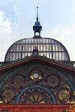 Detail of Fish Market Hall at Hamburg Stock Photos