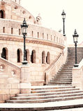 Detail of Fishermen's bastion Royalty Free Stock Photos