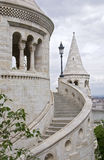 Detail of Fishermens Bastion, Budapest Stock Image