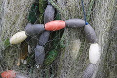 Detail of Fishing Net. Close up of a fishing net royalty free stock photography