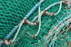 Detail of Fishing Net Stock Images