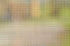Detail Fishnet or mosquito netting Stock Image