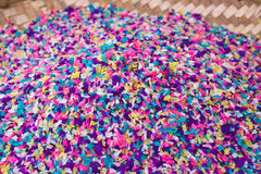 Detail of five-coloured rice Royalty Free Stock Photos
