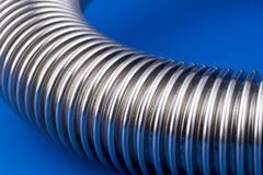 Detail of flexible tube Stock Image