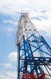 Detail from a Floating Crane Royalty Free Stock Image