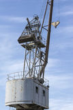 Detail from a Floating Crane Stock Photography